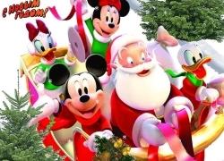 Санта на санках